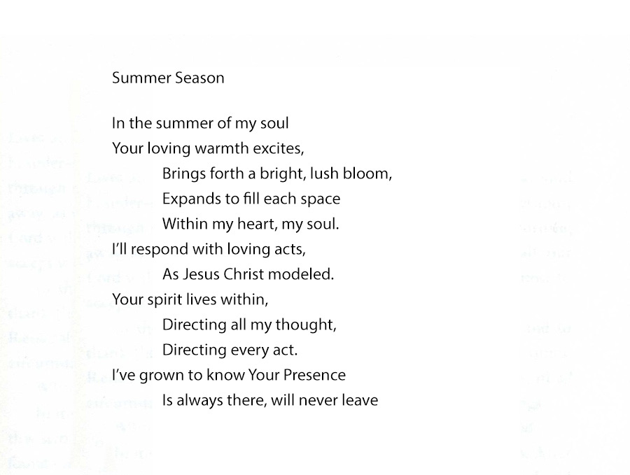 Seasons of the Soul Summer