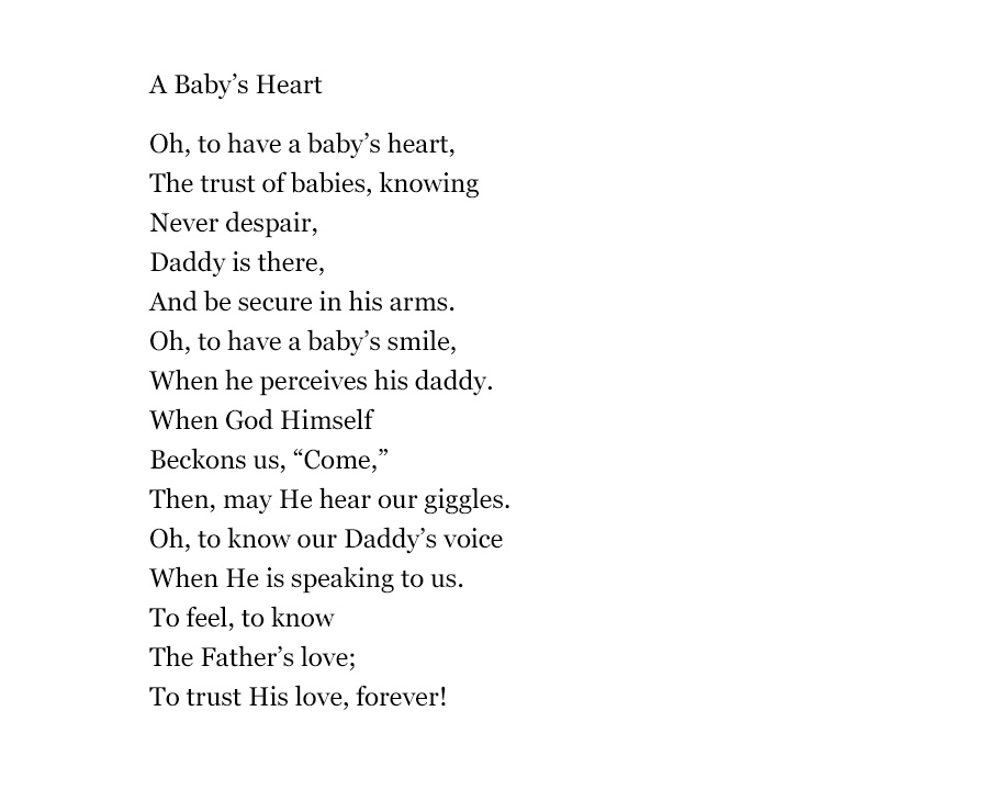 Gods Music preview - A Baby's Heart